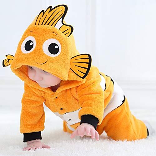Baby Overall Baby Strampler Winter Jungen Mädchen Pyjamas Neugeborene Baby Kleidung...
