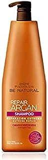 Be Natural Repair Argan Champú de Reparación para Cabellos Maltratados Translúcido 1 Litro