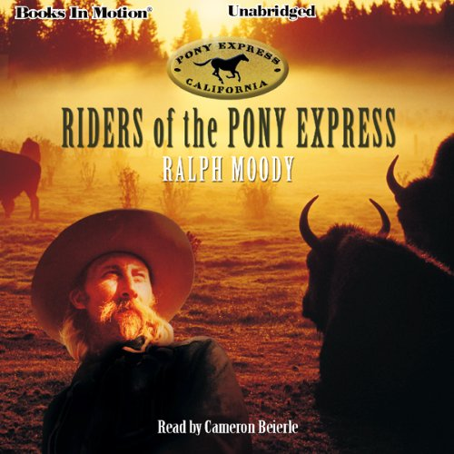 Riders of the Pony Express  By  cover art