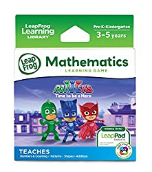 A math game with pj masks for the leappad platinum.