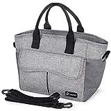 Kühltasche Lunchtasche Damen Herren Kinder Picknicktasche Wiederverwendbare Faltbar Thermotasche Kühltasche für Arbeit, Picknick, Wandern, Ausflügen, Angeln