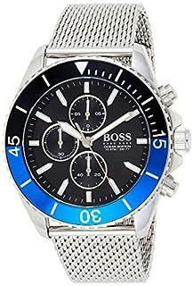Hugo Boss Herren Chronograph Quartz Uhr mit Edelstahl Armband 1513742 (B07VJSGKH8)   Amazon price tracker / tracking, Amazon price history charts, Amazon price watches, Amazon price drop alerts