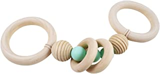 Wooden Teether Montessori Play Gym Hand Baby Teether