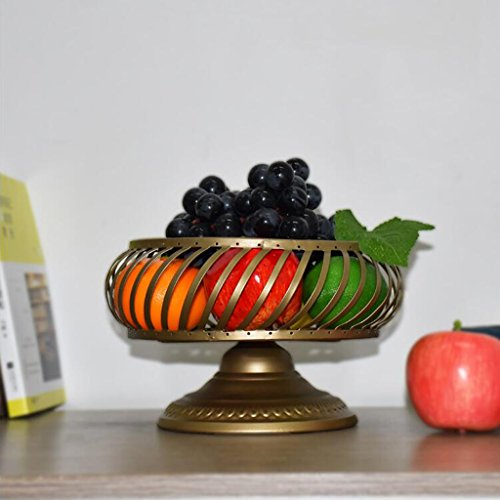 IAIZI - Fruit Basket Mode Creatieve Woonkamer Fruit Plate, Drain Basket Snack Dessert Schotel Bloempot, 20 * 14,5 * 15,5 cm