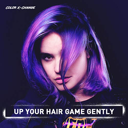 Color X-Change Semi-Permanent Hair Color, PLUSHY PURPLE
