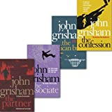 John Grisham Collection 4 Books Set, (The Confession, the Partner, the associate and the Pelican brief)