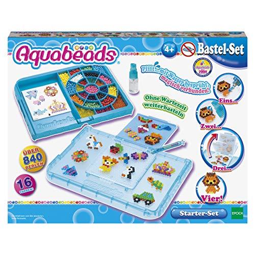 Aquabeads 31399 Starter Set Blau - Bastelset