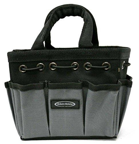 McGuire-Nicholas Mighty Bag Compact Tool Storage Tote, 7-Inch, Grey