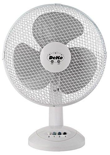 Deko Pegro Tischventilator B 305 Stratos ws 30cm, 40W, osz. Ventilator 4008962703034