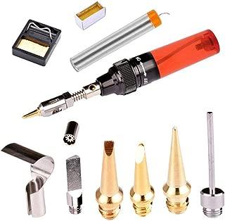 Yeldou 13 in 1 Gas Soldering Iron Kit, New Refillable Butane Gas Soldering Tool