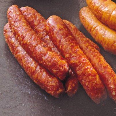 Rauchenden im Naturdarm   4er Packung ca. 400g   Kochwurst   Mettenden   Grünkohlbeilage