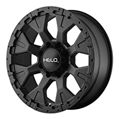 "Available in 16"" 17"" 18"" and 20"" diameters with various widths and off-sets Satin black painted finish and center cap Lifetime structural and a one-year finish warranty against peeling or lifting of finish Lug nuts are not included with wheel purchas..."
