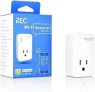تنظیم مجدد روتر Wi-Fi ، مانیتور هوشمند افزونه هوشمند و راه اندازی مجدد Wi-Fi روتر / مودم / نقاط دسترسی در صورت عدم موفقیت Wi-Fi ، چرخ خودکار برق برای مودم و روتر ، با برنامه REC کار می کند