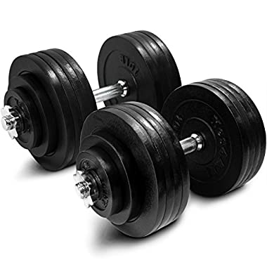 Yes4All Adjustable Dumbbells 40, 50, 52.5, 60 to 105 lbs (200 lbs) - ²ZZCEZ