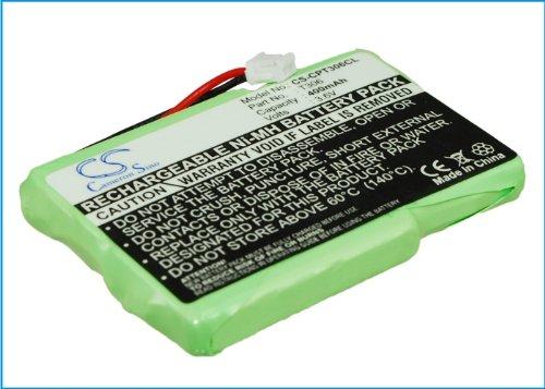 TECHTEK batería sustituye 4M3EMJV2Z, para 4M3EMJZ, para F6M3EMX, para T306 Compatible con [SWISSCOM] Aton CL306, CL-306, para [SAGEM] Colors Memo, Colors View, D95C, DCP 12-300, DCP 21-300, DCP 22-33