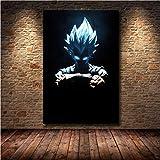 JIUJIUJIU Große Leinwand Malerei Dragon Ball Poster