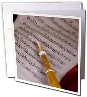 Danita Delimont - 威尼斯 - 音乐分子,位于意大利威尼斯的口译维涅齐尼亚音乐博物馆 - 贺卡 Individual Greeting Card