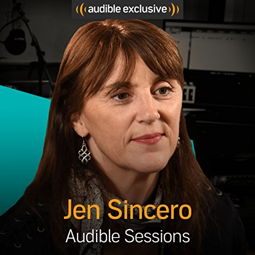Jen Sincero audiobook cover art