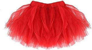 SHOBDW mujer, Falda del Tutu para Niña,SHOBDW Bebé Lindo Regalos de cumpleaños para niños Niños Vestidos de Baile Mini Faldas de Ballet Plisadas Rendimiento Fiesta de Lujo