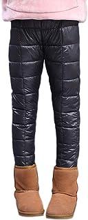 DaiHan Pantalones de Plumón Invierno Pantalones Largos Invierno Acolchado Esquí Al Aire Libre Ropa Caliente Resistente Vie...