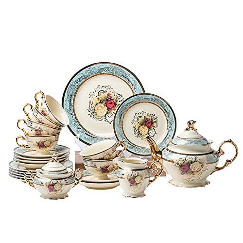 European Coffee Set Afternoon Tea, Ceramic Tea Set