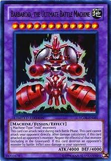 Yu-Gi-Oh Card - YG08-EN001 - BARBAROID, THE ULTIMATE BATTLE MACHINE (ultra rare holo)