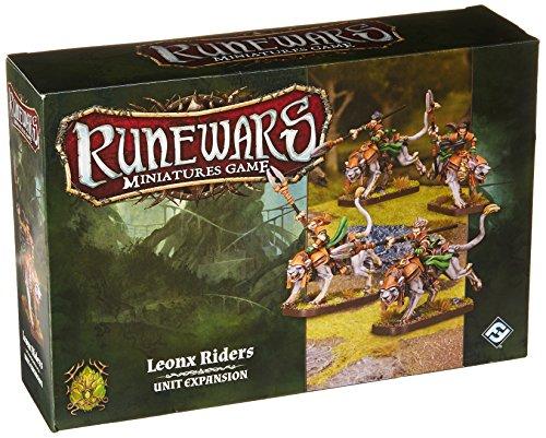 Fantasy Flight Games FFGRWM17 Leonx Riders Expansion Pack: Runewars Miniatures Game, Multicolor