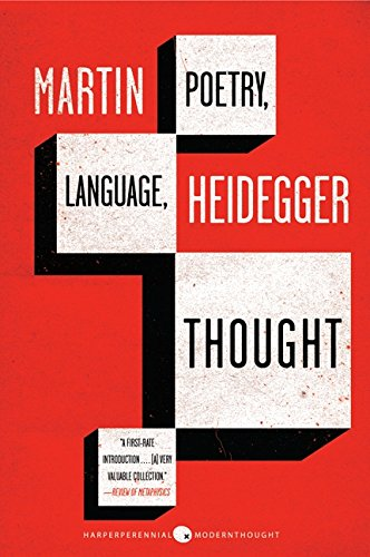 Poetry, Language, Thought (Harper Perennial Modern Thought)