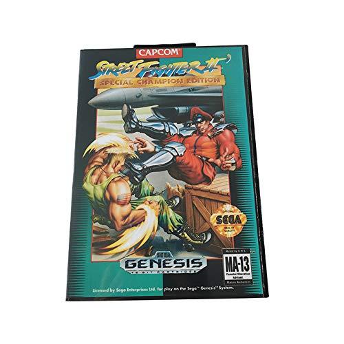 Cartucho de Juego megadrive Sega con Juego de 16 bits Sonic y Nudillos para la Consola de Juegos megadrive Sega
