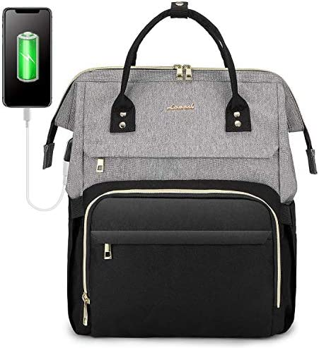 LOVEVOOK Laptop Backpack for Women Travel Business Computer Bag Purse Bookbag with USB Port product image