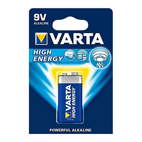 cellePhone Batterie ZN/MNO2 Varta High Energy 9V E-Block 6LP3146 4922-1 STK Blister