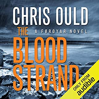 The Blood Strand audiobook cover art