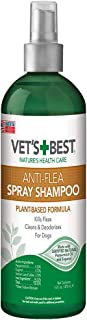 Vet's Best Anti-Flea Easy Spray Flea Shampoo Pets