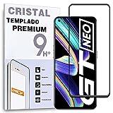 Protector de Pantalla Curvo para OPPO REALME X7 MAX 5G, Negro, Cristal Vidrio Templado Premium, 3D / 4D / 5D, Anti Roturas