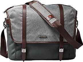 Manfrotto MB LF-WN-MM Camera Messenger Bag for DSLR Lifestyle Windsor M, Grey