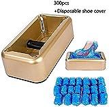 WXCCK – Máquina de cubrecalzado, cobertura automática de zapatos con 300 piezas de plástico desechables para botes y zapatos, perfecta para medicina, hogar, negocios y oficina