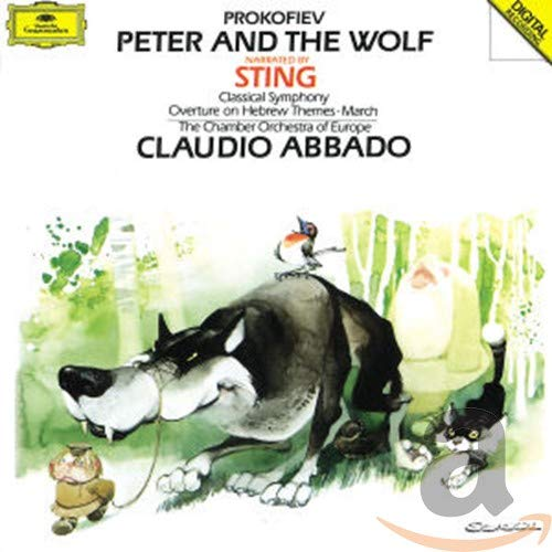 Prokofiev: Peter and the Wolf, Classical Symphony, March Op.99, Overture Op.34