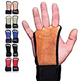 Gymnastics Grips - Gloves for Crossfit - Workout Gloves with Wrist Wraps - Weight Lifting Gloves - Gym Gloves for Pull Up - Fitness Hand Grips - Calisthenics Equipment