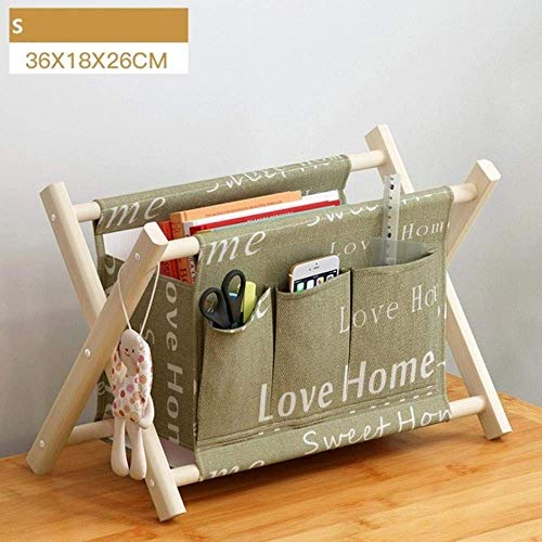 Why Choose LHQ-HQ Wooden Durable High Capacity Storage Basket Portable Foldable Thick Cotton Linen B...