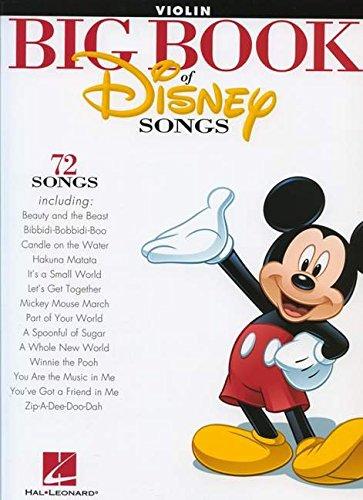 The Big Book of Disney Songs (Violin)