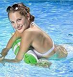Water Hammock Inflatable Pool Float, Multi-Purpose Pool Hammock (Saddle, Lounge Chair, Hammock, Drifter) Pool Chair for Adults/Kids