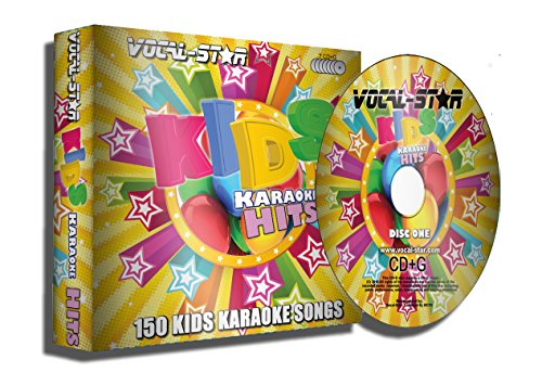 Karaoke CD Disc Set With Words - Kids Children`s Disney Pop 150 Songs - 7 CDG Discs By Vocal-Star [audioCD] Vocal-Star