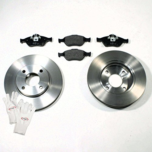 Autoparts-Online Set 60003866 Bremsscheiben/Bremsen + Bremsbeläge vorne