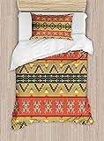 shirlyhome - Sábanas de Cama de poliéster ultrasuave con círculos geométricos y pequeñas Formas Redondas Interiores, impresión artística hipoalergénica, poliéster, Color07, Matrimonio