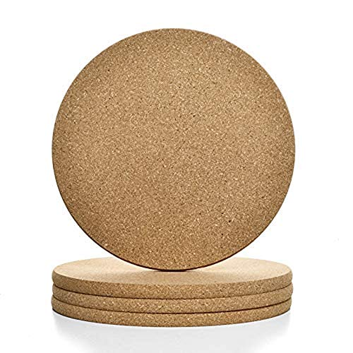 Cork Trivets for Hot Dishes Cork Coasters for Drinks 4 Cork Trivet 8 Cork Coasters for Wooden Table  Cork Trivets for Hot Pots and Pans