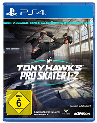 TONY HAWK´S Pro Skater 1+2  - [PlayStation 4] (Exklusiv bei Amazon)