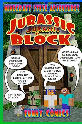 Minecraft Steve Adventures - Jurassic Block (Volume 3)