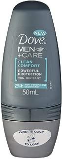 Dove Men+Care Anti-Perspirant Deodorant Roll-On Clean Comfort 50g