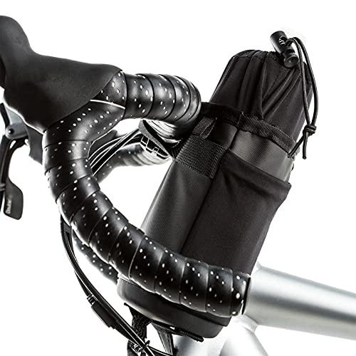 Lenkertasche Fahrrad für Trinkflasche, Isolierte Fahrradtasche mit Flaschenhalter, Kühltasche Thermotasche Flaschentasche für Wasserflasche, Getränkehalter Käfige für Erwachsene und Kinder Fahrrad