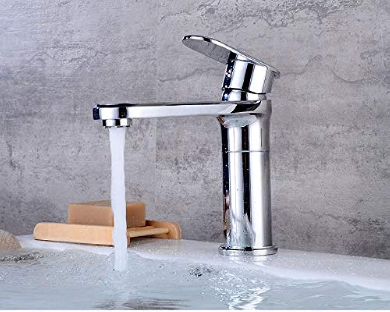 Kupfer überzogenes Badezimmer-Bassin-Bassin-Waschbecken-Hahn-heies und kaltes Wasser 360 Grad-drehender Hahn